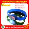 Fashion promotion silicone flash bracelet