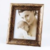 Gold Scroll Photo Frame