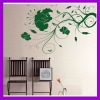 2012 Modern Eo-friend rose flower pvc wall decorative sticker