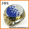 Wholesale Hottest Style Stainless Steel Rings Jewelry Crystal Ring