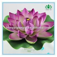 water lily (L) EVA Artificial lotus Flower