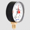 air pressure gauge with red pointer