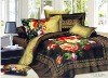 cotton reactive printing bedding set