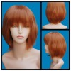 lovely short synthetic wig for girl and women