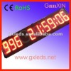 alibaba express 9digits Remote control large led countdown clock