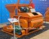 Twin Shaft JS500 Concrete Mixer