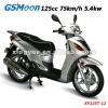 Powerful cheap eec epa 125cc scooter with CVT transmission