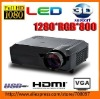 3D projector 3d 720p led projector 1080p support hdmi home theater projector Hot Selling best price
