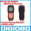 Autoscan Updated online 5A Xtool warranted PS100 OBDII scanner Oxygen tool PS 100 Scanner