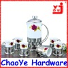 Rose Printing Ceramic Tea Maker Set