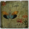 Butterfly antique cheap wood wall hanging