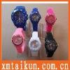 Customized Logo Silicone Jelly Watch