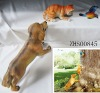 Dog chase butterfly and cat Garden Tree decoration