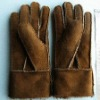 wholesale leather with hair gloves
