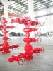 oilfield wellhead equipped with gate valve,drilling choke,tubing head,casing head,cross and flange