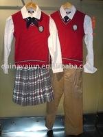 vest school girl uniform