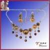Alloy Jewelry Set.Necklace And Earring Set