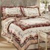 Professional Decoration Cozy And Luxury Printed Quilts Set