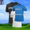 100% Cotton Golf T-Shirt with Round Neck
