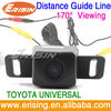 ES860 RCA Video Cable CMD Car Rear View Camera for TOYOTA