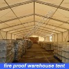warehouse tent with flame retardant fabric in any size
