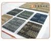 Carpet tile PVC backing commercial carpet sample PP