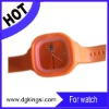 fashion silicone jelly candy wrist watch factory supply