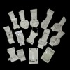 big and small standard and non-standard acrylic parts