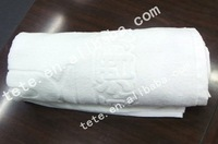 2012 modern Hotel mention word cotton bath towel