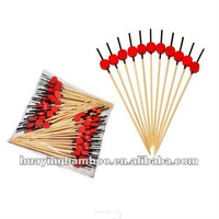 100 pcs BAMBOO SKEWERS PARTY PICKS - NEW