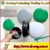 Rubber cap for highway guardrail column