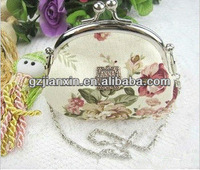 2012 new style small zero purse han canvas nwe style elegance lady wallets