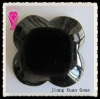 Flower Cut Lily 4 Black Onyx Jewellery Decoration Gemstone