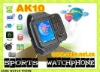 "AOKE AK10 1.33"" touch screen Watch Mobile Phone support Multi-Language with Bluetooth and Camera(Support OEM)"