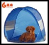 2012 new style big soft pet travel tent/beach pet tent