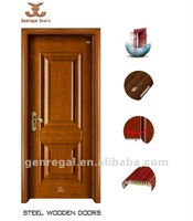 Deep drawing Decorative Interior steel door (YD-103)
