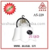 21 led rechargeable emergency lamp AS-099(E22/B22)
