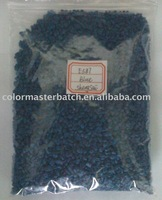 plastic polyethylene color masterbatches-blue E587