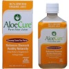 Aloecure Ginseng Green Tea Flavor Organic and PureAloe Juice