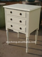 French 3 Drawers Chest