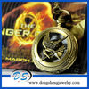 Vintage Bronze Mockingjay Bird Pocket Watch From The Hunger Game