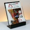 acrylic desktop magazine holder