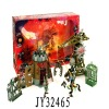 Hot sale plastic toy knight for kids