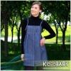 KISSBABY Radiation protection maternity clothes/metal fiber clothing denim dress ANL/8102