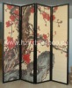 Bamboo folding screen