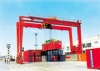 RTG-Rubber Tyre Container Gantry Crane