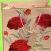 rose kraft shopping bags
