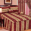 5pcs Jacquard Bedding set , comforter set