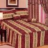 5pcs Jacquard Bedding set , comforter set