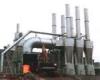 Solid standing type incinerator